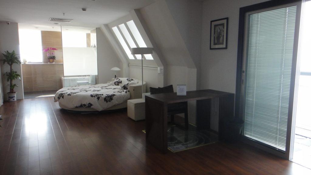 Camera da letto domotica