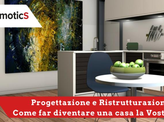 Domotica wireless per ristrutturazione casa mydomotics for Progettare ristrutturazione casa