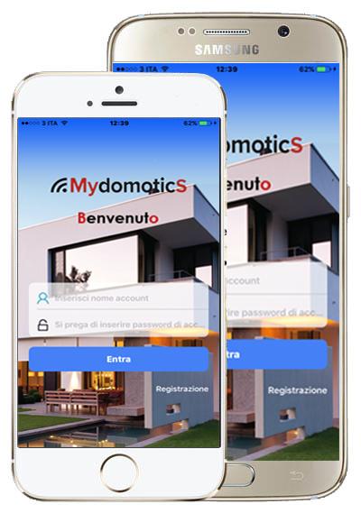 Esplorare la App MydomoticS: il Menu' e le funzioni.
